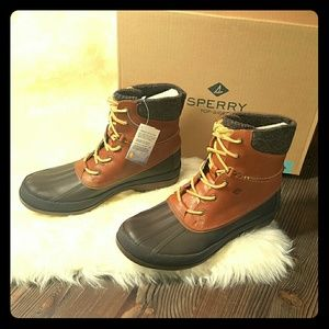 Mens Sperry Top-Sider Arctic Grip Boots Tan 10.5